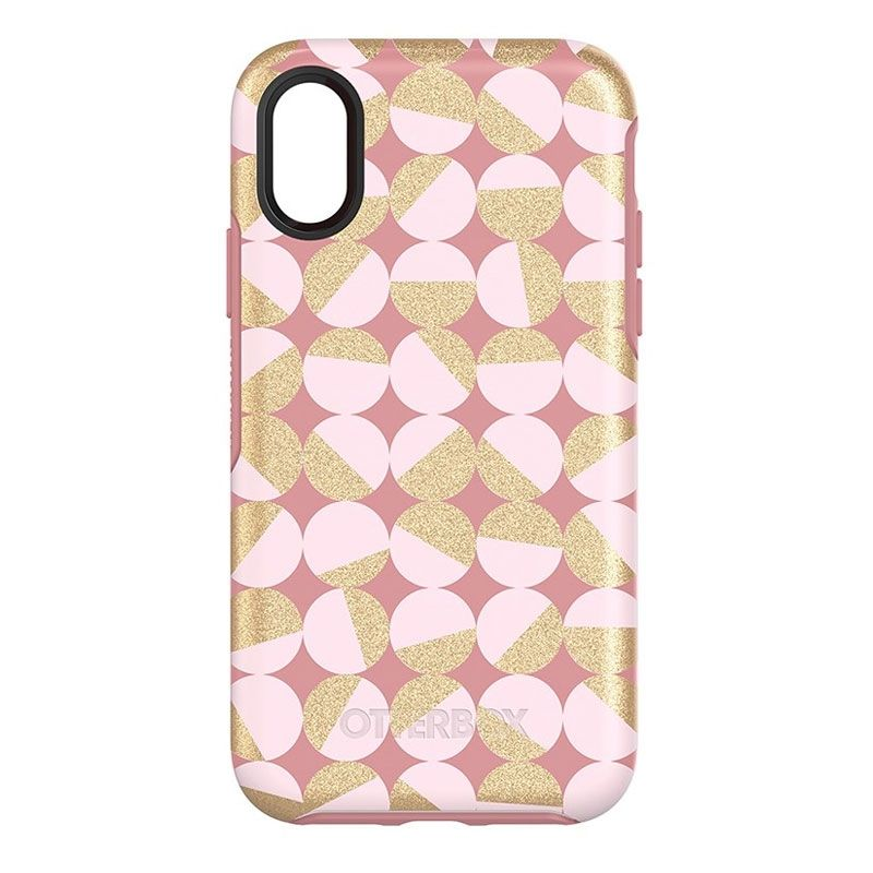 Otterbox Symmetry Case for Apple iPhone X - Pale Beige/Blush Pink - , 100% Australian Stock