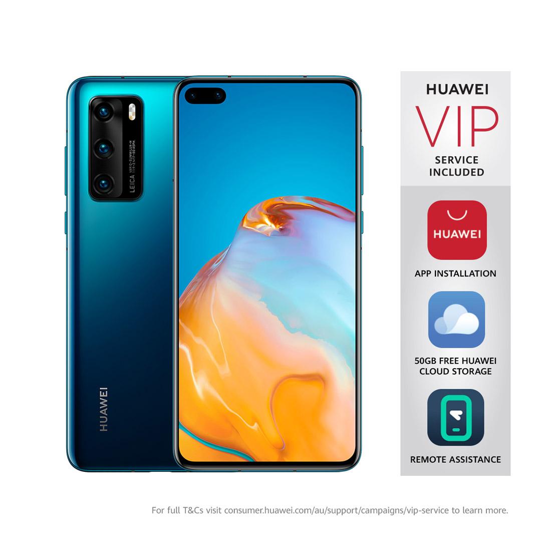 "Huawei P40 5G (Dual SIM, 6.1"", 50MP) - Deep Sea Blue"