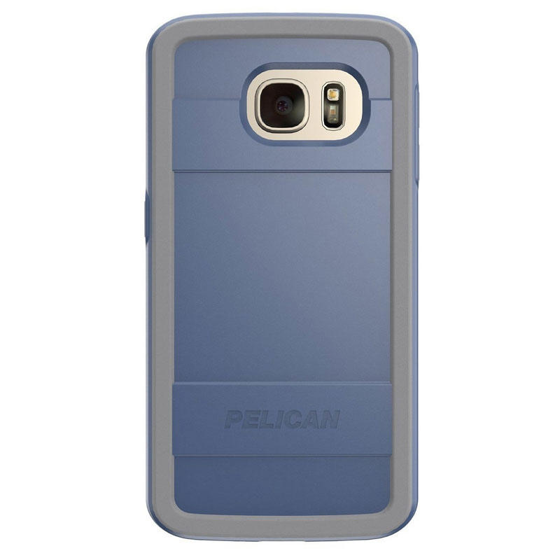 Pelican Protector Case for Samsung Galaxy S7 Edge - Blue/Grey
