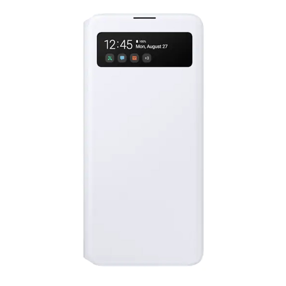 Samsung Galaxy A51 S View Wallet Cover - White