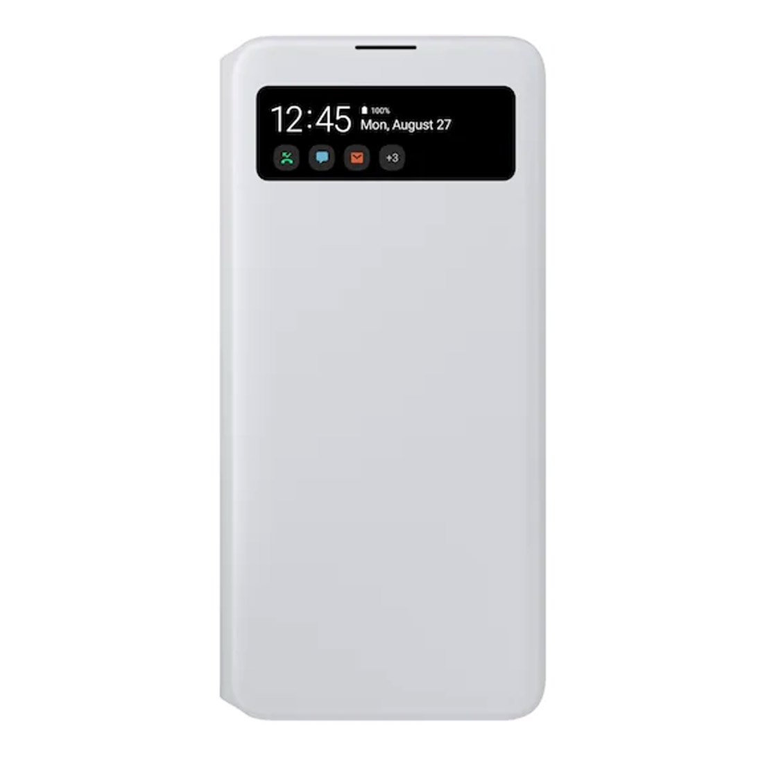 Samsung Galaxy A71 S View Wallet Cover - White