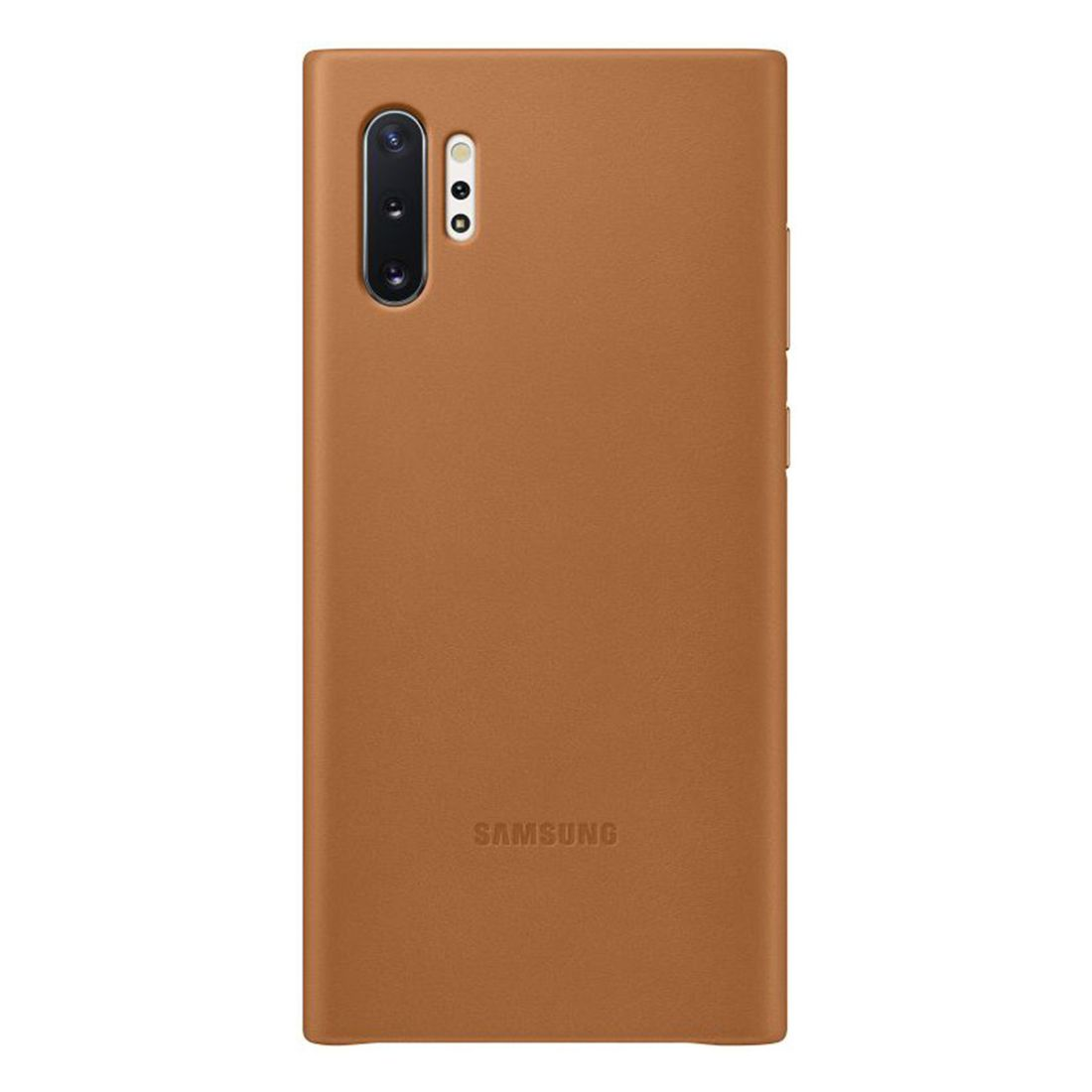 Samsung Galaxy Note 10+ Plus Leather Back Cover - Brown