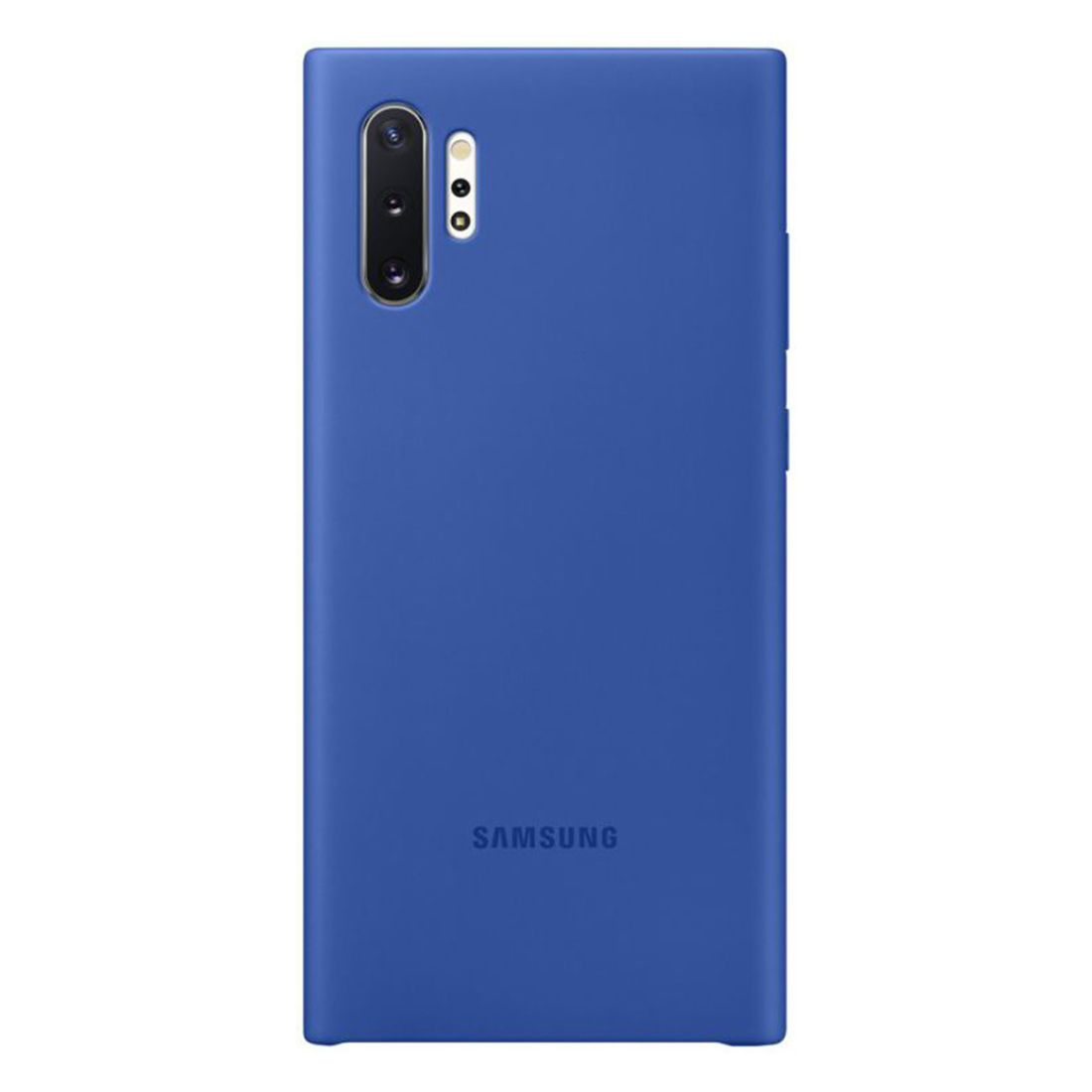 Samsung Galaxy Note 10+ Plus Silicone Cover - Blue