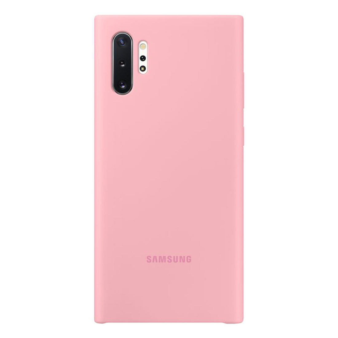 Samsung Galaxy Note 10+ Plus Silicone Cover - Pink