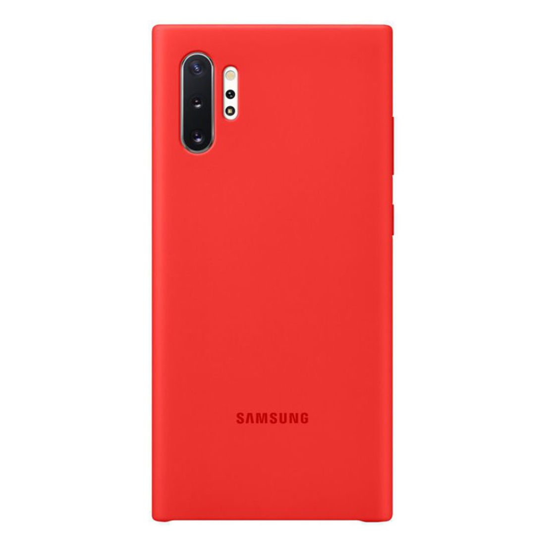 Samsung Galaxy Note 10+ Plus Silicone Cover - Red