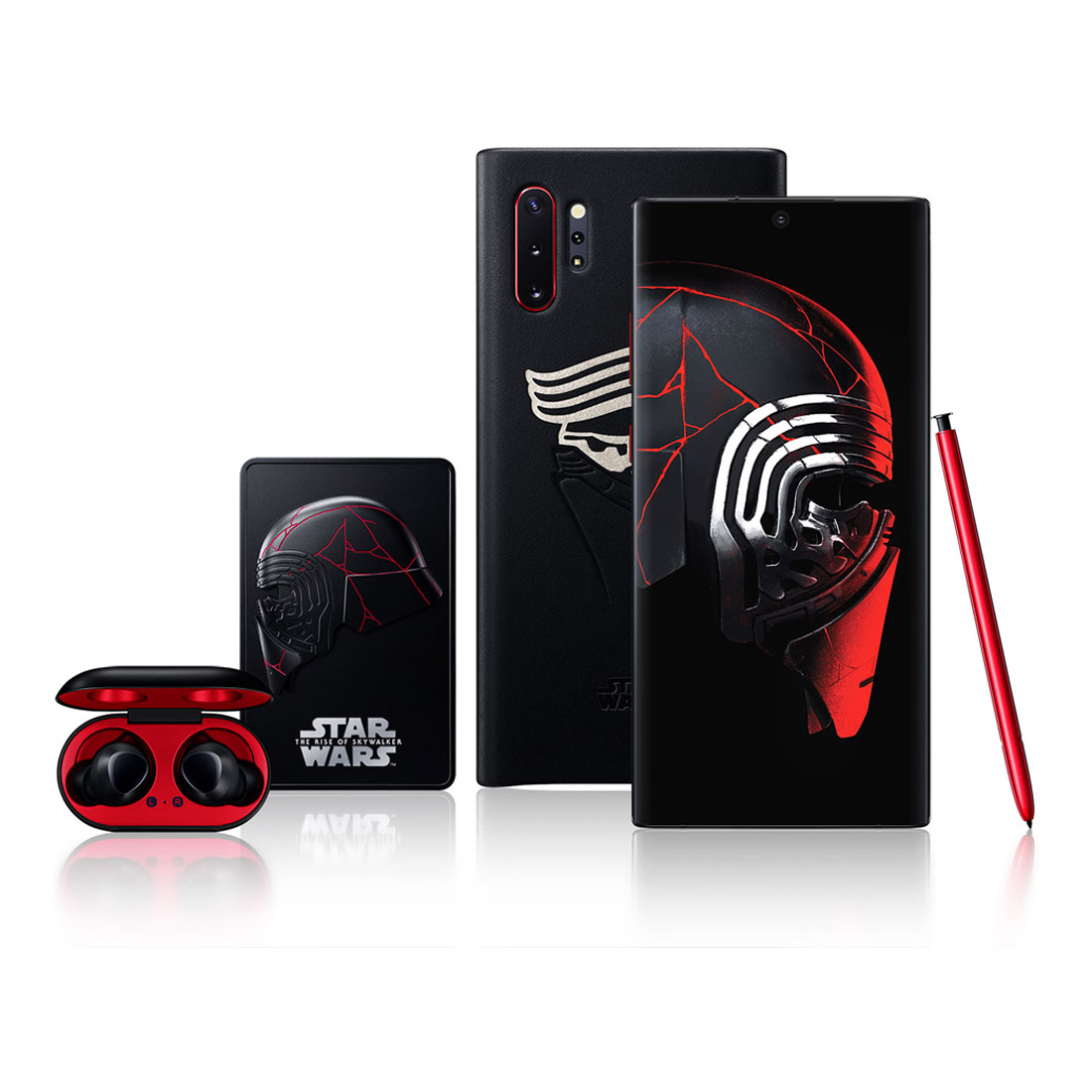 Samsung Galaxy Note 10+ Plus Star Wars Edition Bundle (w/ Galaxy Buds, 256GB/12GB) - Black