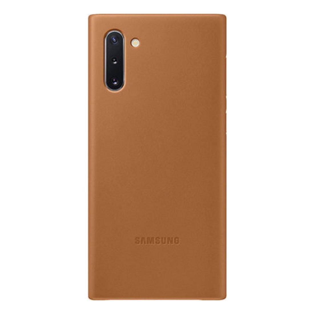 Samsung Galaxy Note 10 Leather Back Cover - Brown