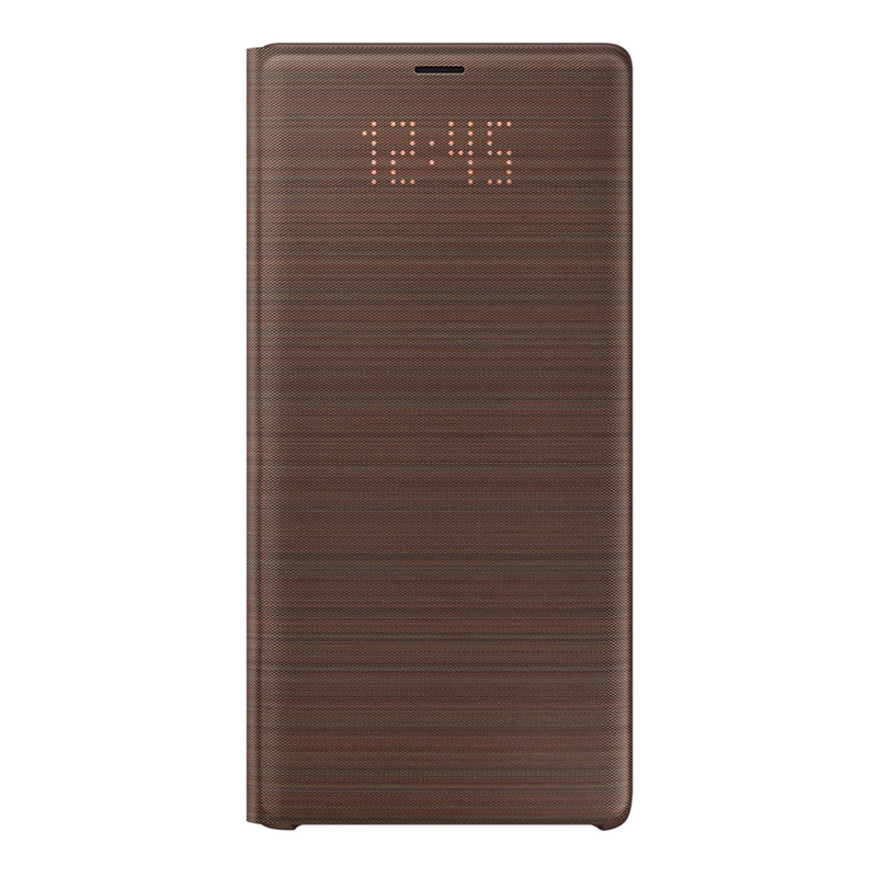Samsung Galaxy Note 9 LED View Cover - Brown
