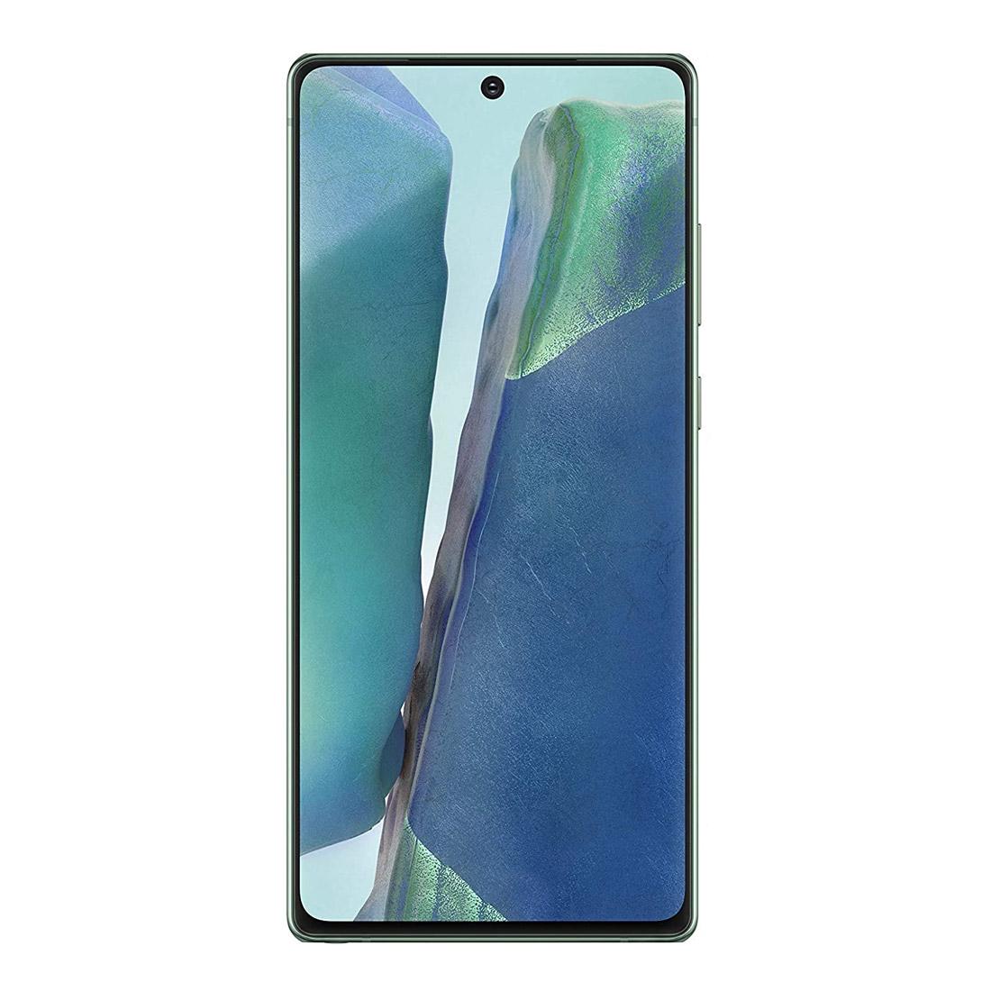 """Samsung Galaxy Note 20 (4G, 6.7"""", 64MP, 256GB/8GB) - Green"""