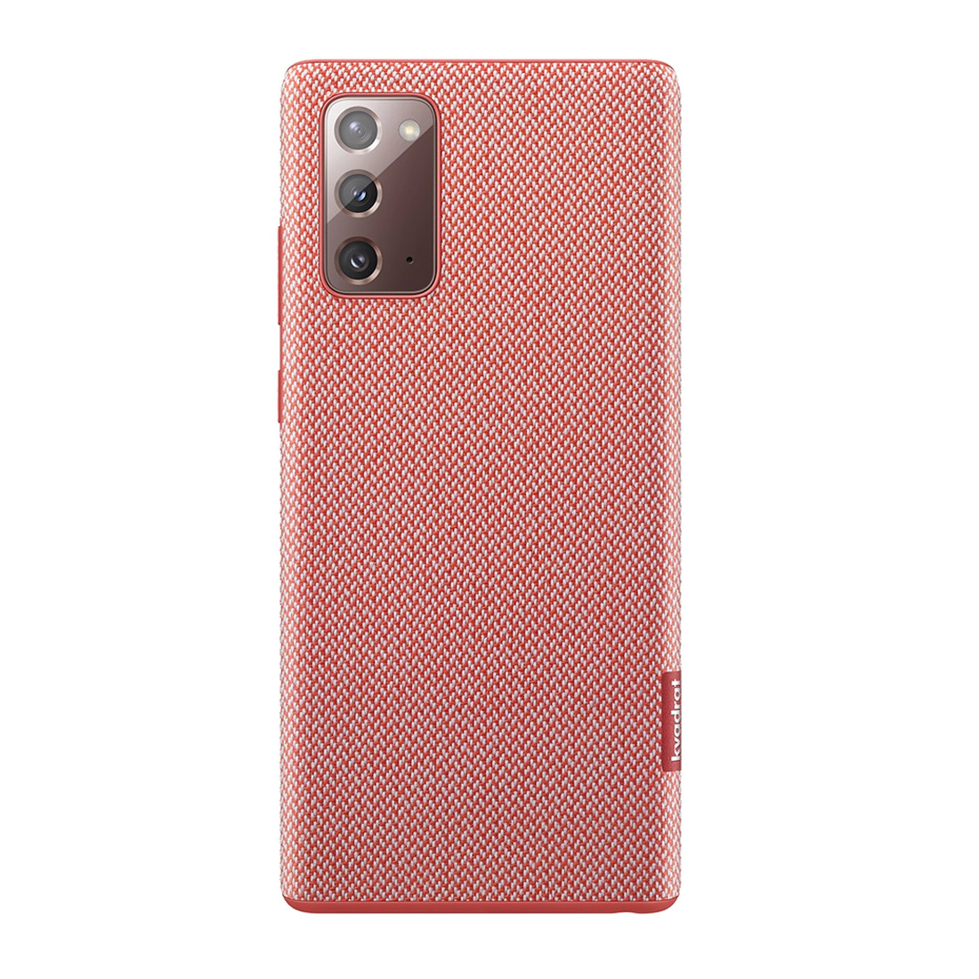 Samsung Galaxy Note 20 Kvadrat Cover - Red