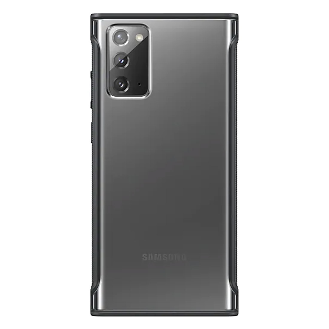 Samsung Galaxy Note 20 Clear Protective Cover - Black
