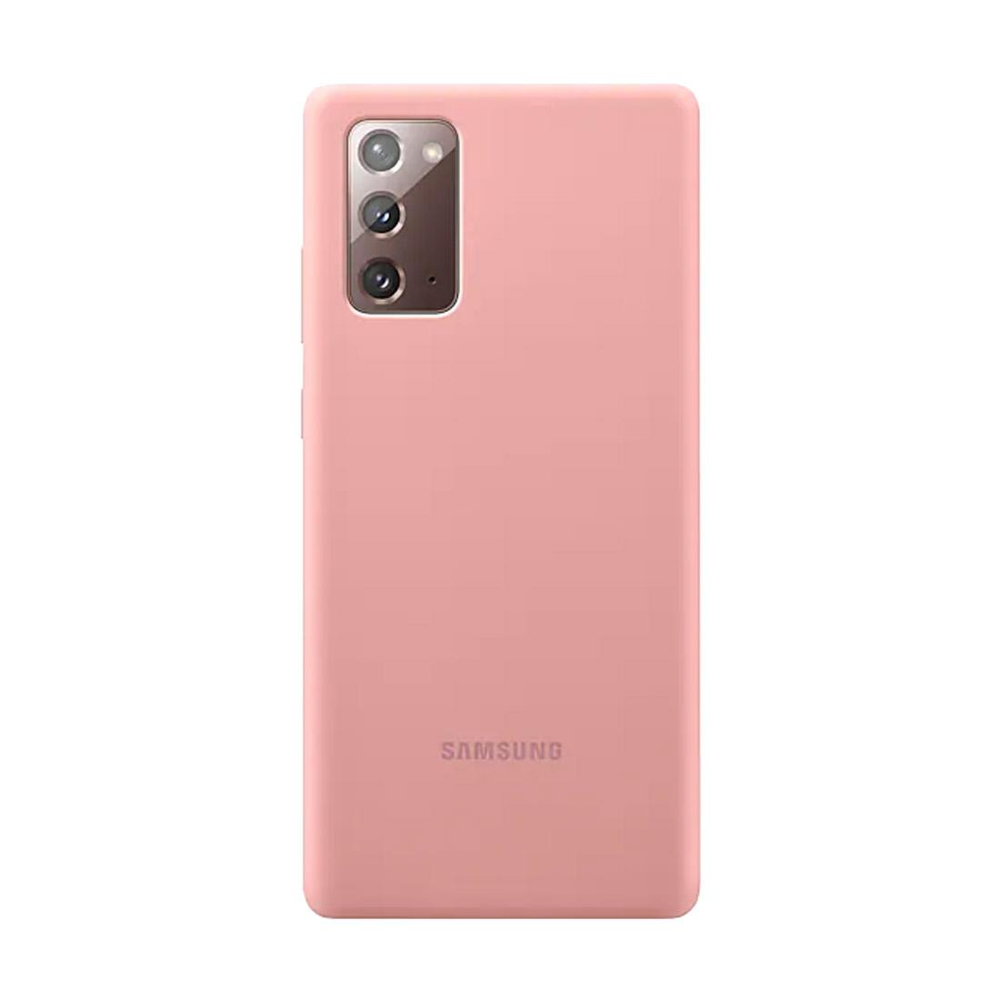 Samsung Galaxy Note 20 Silicone Cover - Mystic Bronze