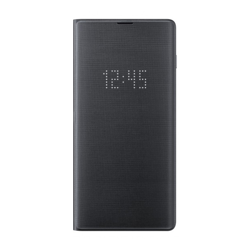 Samsung Galaxy S10+ Plus LED View Wallet Cover - Black