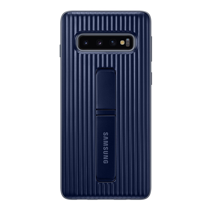 Samsung Galaxy S10 Protective Standing Cover - Black