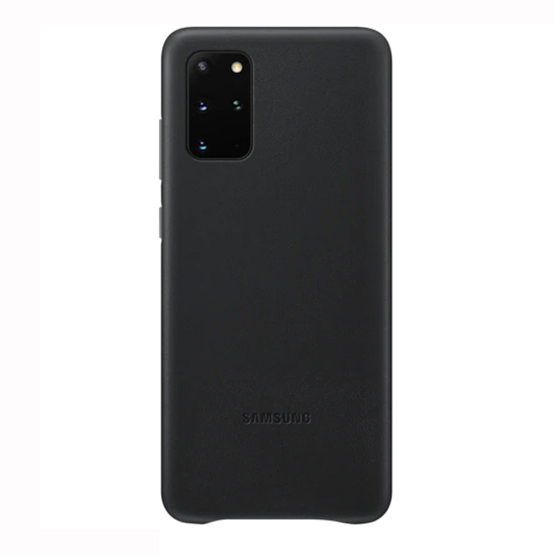 Samsung Galaxy S20+ Plus Leather Cover - Black