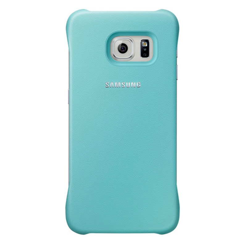 Samsung Galaxy S6 Edge Protective Cover - Mint Blue - , 100% Australian Stock