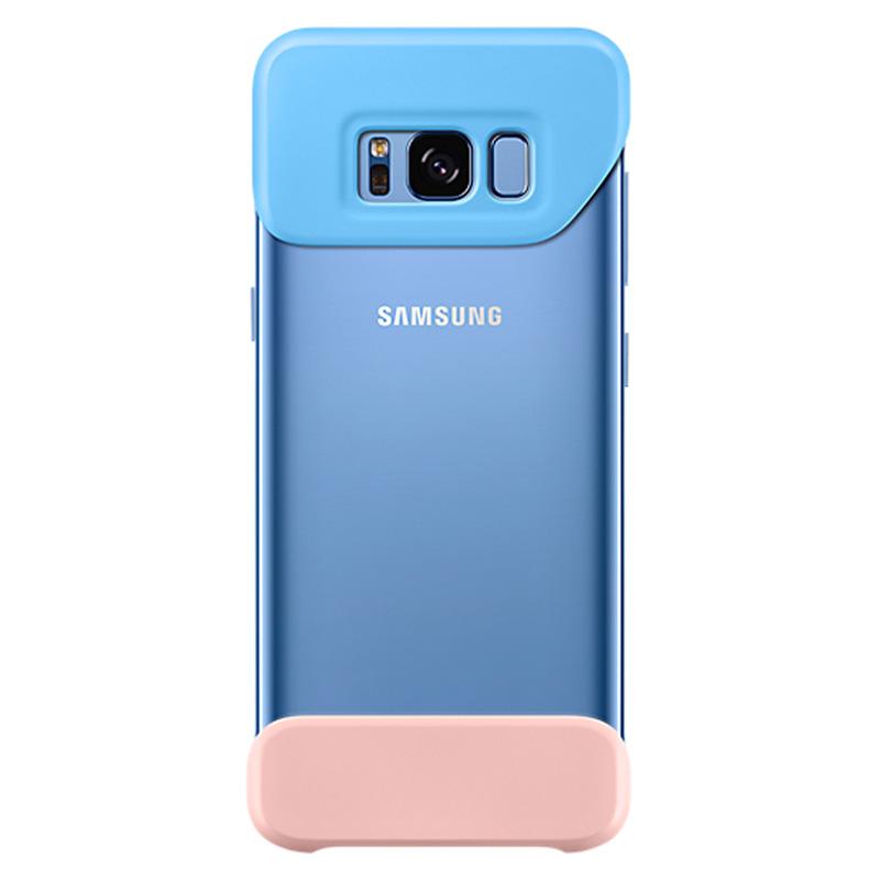 Samsung Galaxy S8 2 Piece Back Cover - Blue - , 100% Australian Stock