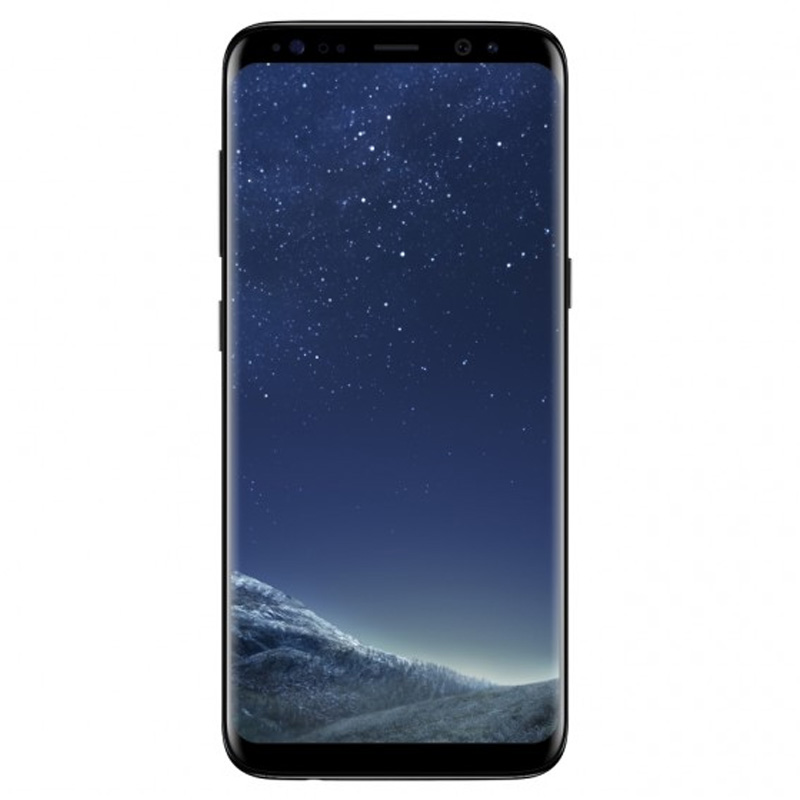 [Good Condition - Pre Owned] Samsung Galaxy S8 (64GB Opt) - Midnight Black