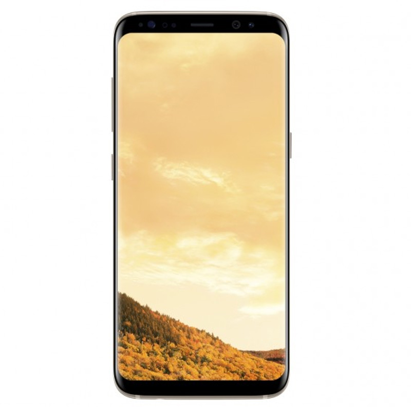Samsung Galaxy S8 (G950F, 64GB/4GB) - Maple Gold - Unlocked, 100% Australian Stock
