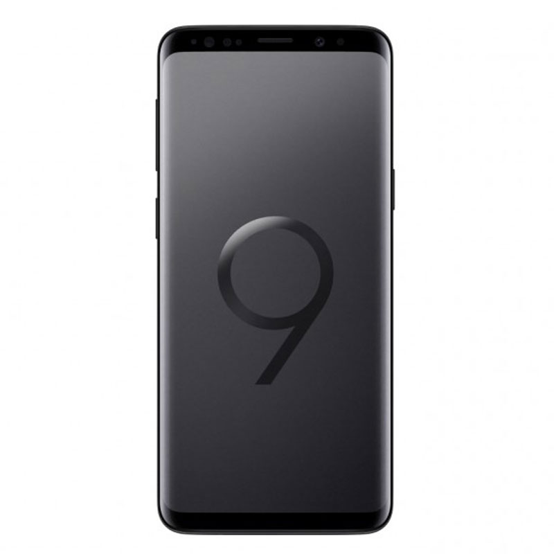 "Samsung Galaxy S9 G960F (64GB/4GB, 5.8"", Tel) - Midnight Black"
