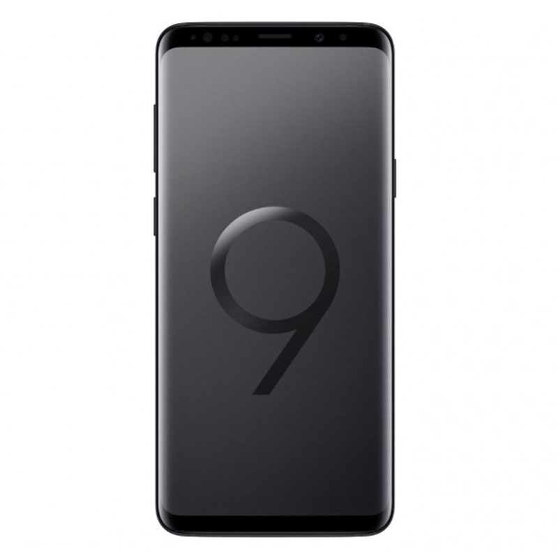 "Samsung Galaxy S9+ Plus G965F (64GB/6GB, 6.2"", Tel) - Midnight Black"