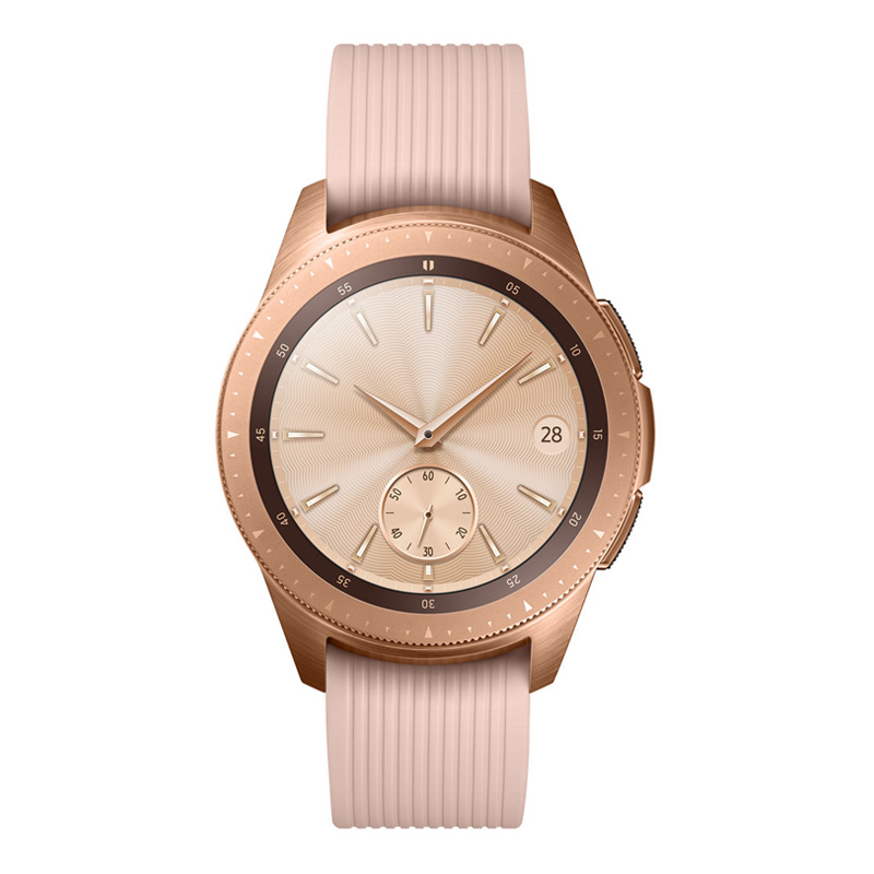 [Good Condition - Pre Owned] Samsung Galaxy Watch 42mm 4G SM-R815 - Rose Gold