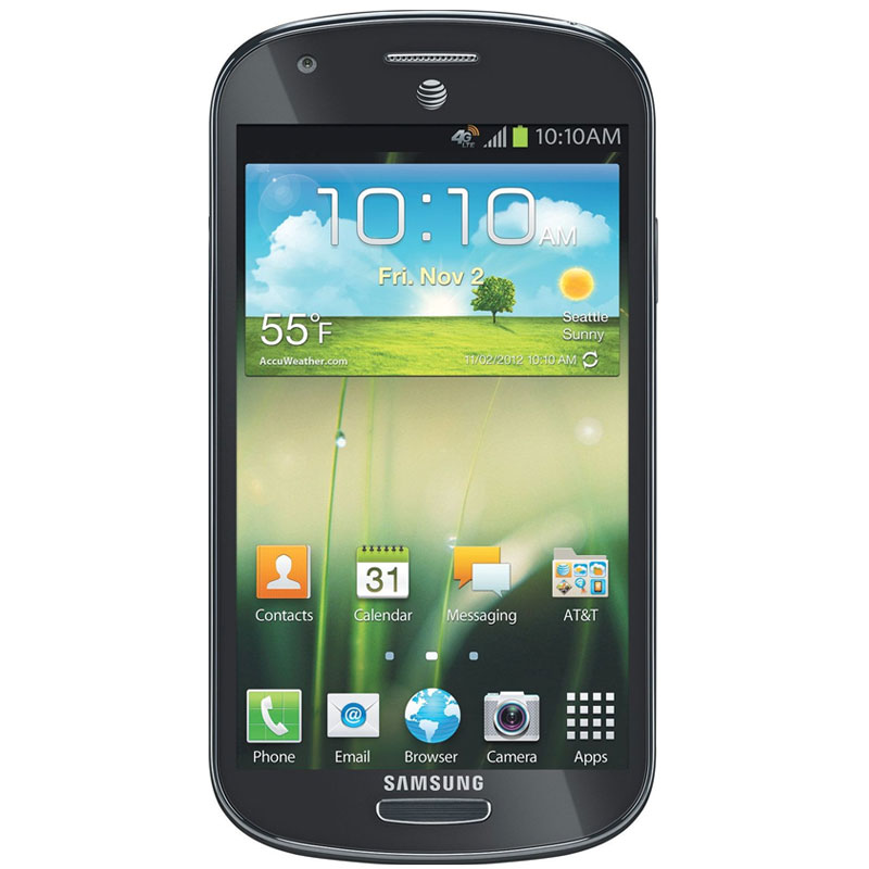 "Samsung Galaxy Express i8730 (4G/LTE, 4.5"", 5MP) - Grey"