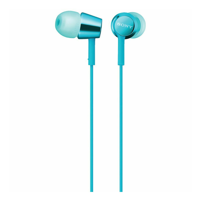 Sony MDR-EX155AP In-Ear Stereo Headphones with Remote - Blue