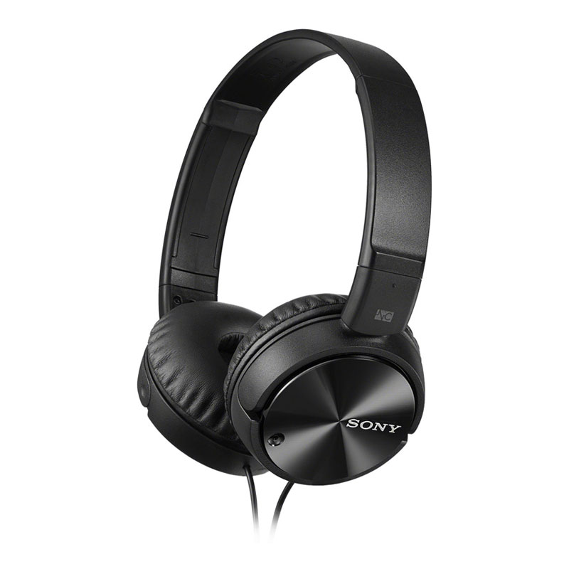 Sony MDR-ZX110NC Noise Canceling Headphones - Black