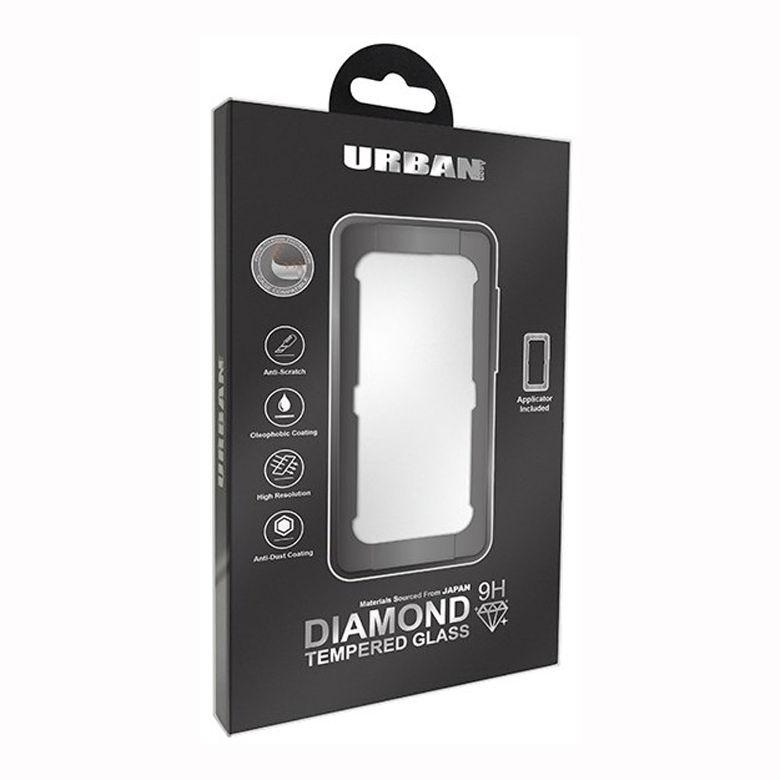 Urban Diamond Tempered Glass Screen Protector For iPhone 11 Pro/Xs/X