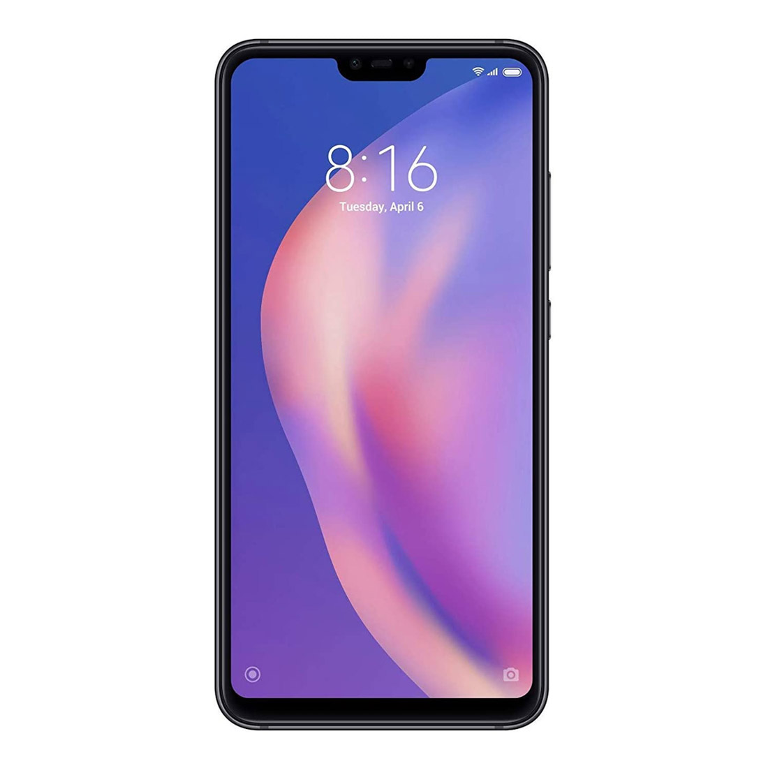 Xiaomi Mi 8 Lite (Dual Sim 4G, 128GB/6GB) - Midnight Black
