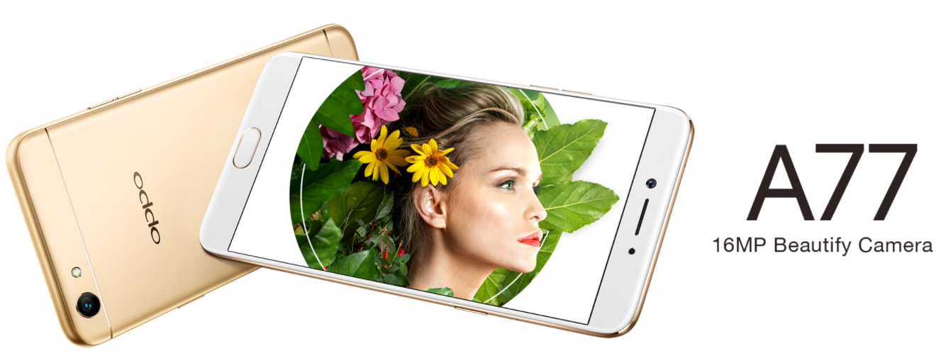 OPPO A77 Gold
