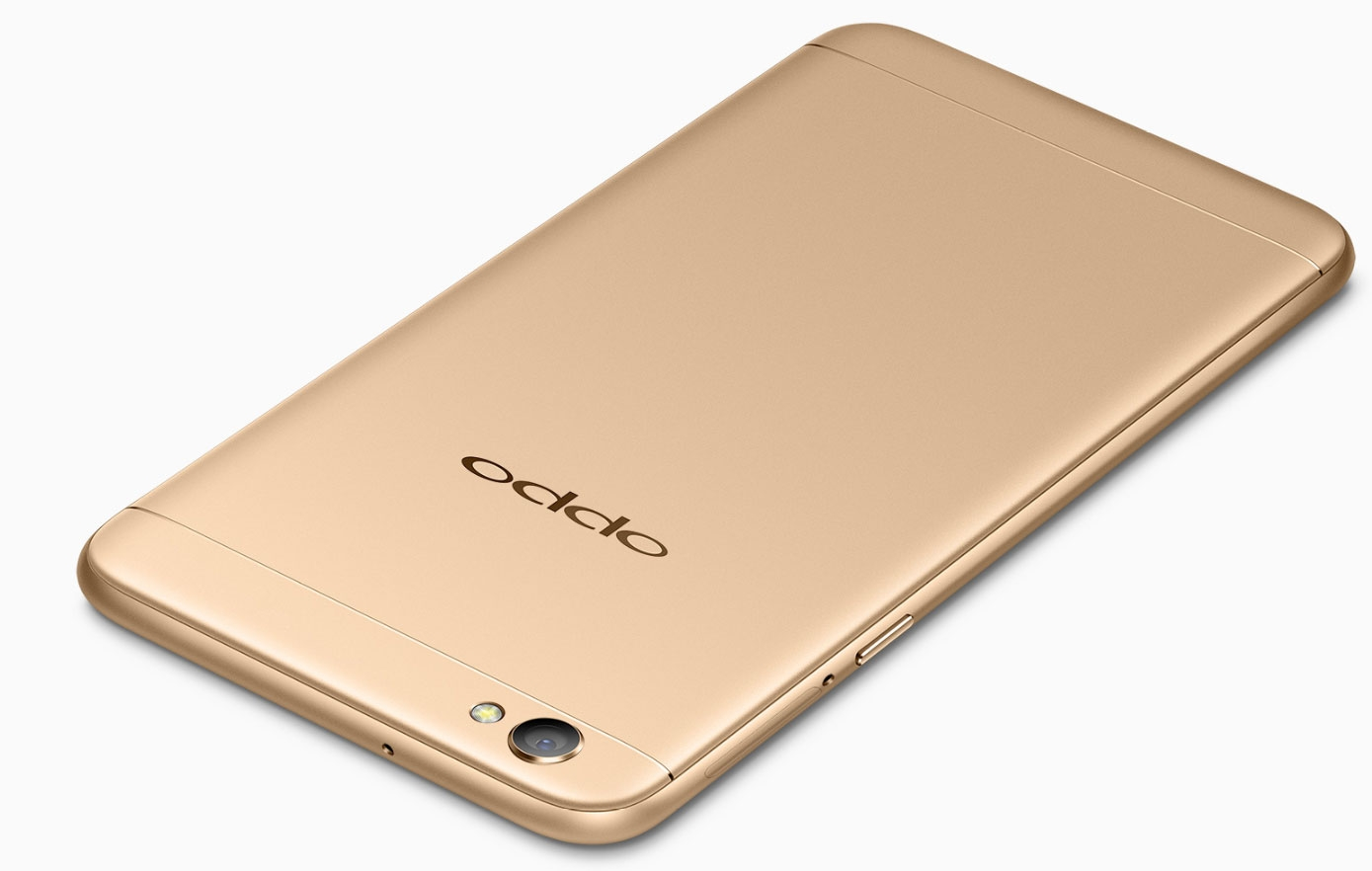 OPPO A77 Gold Back