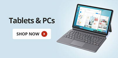 tablets and PCs
