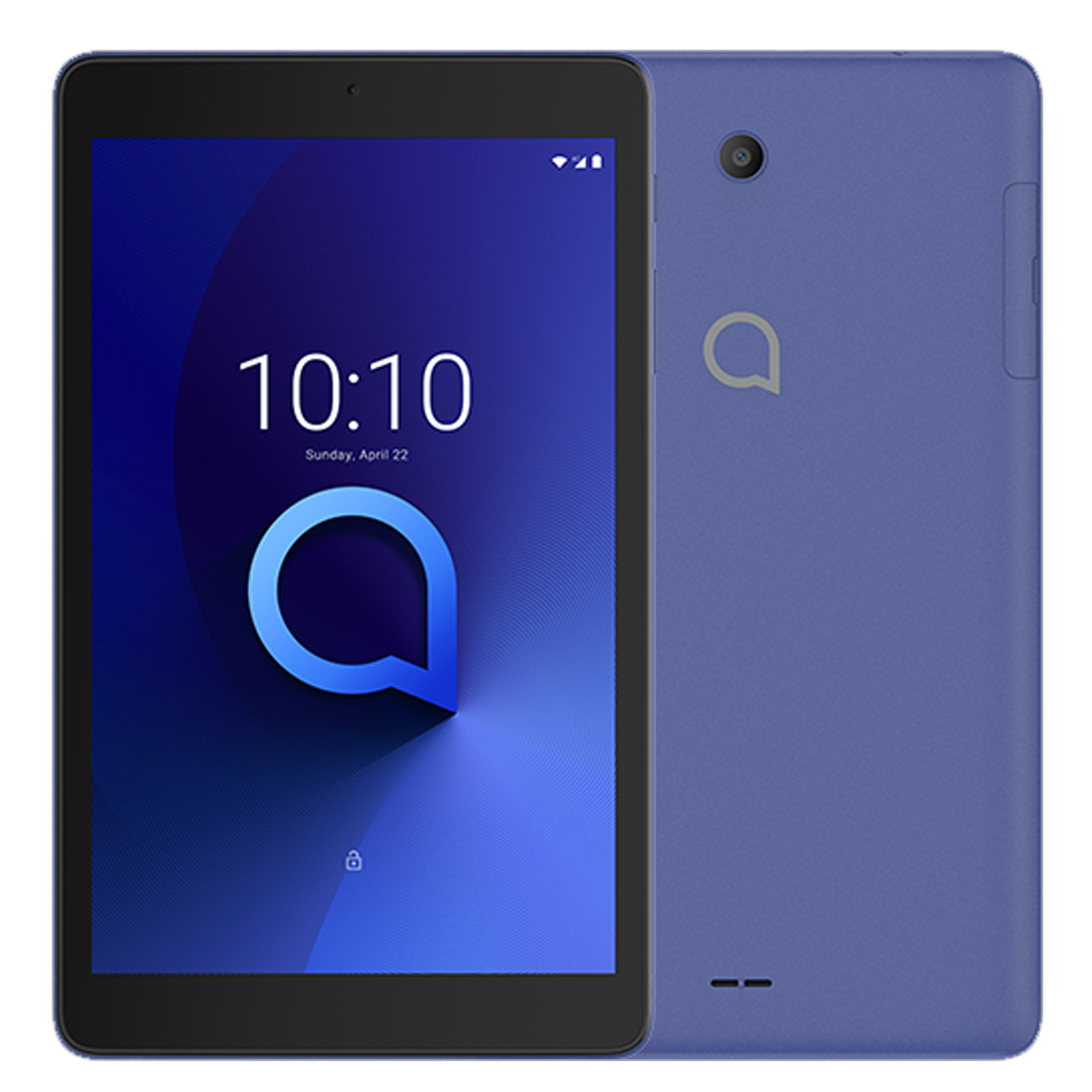 """Image of Alcatel 3T 8 4G Android Tablet (8"""", 32GB/3GB) - Suede Blue"""