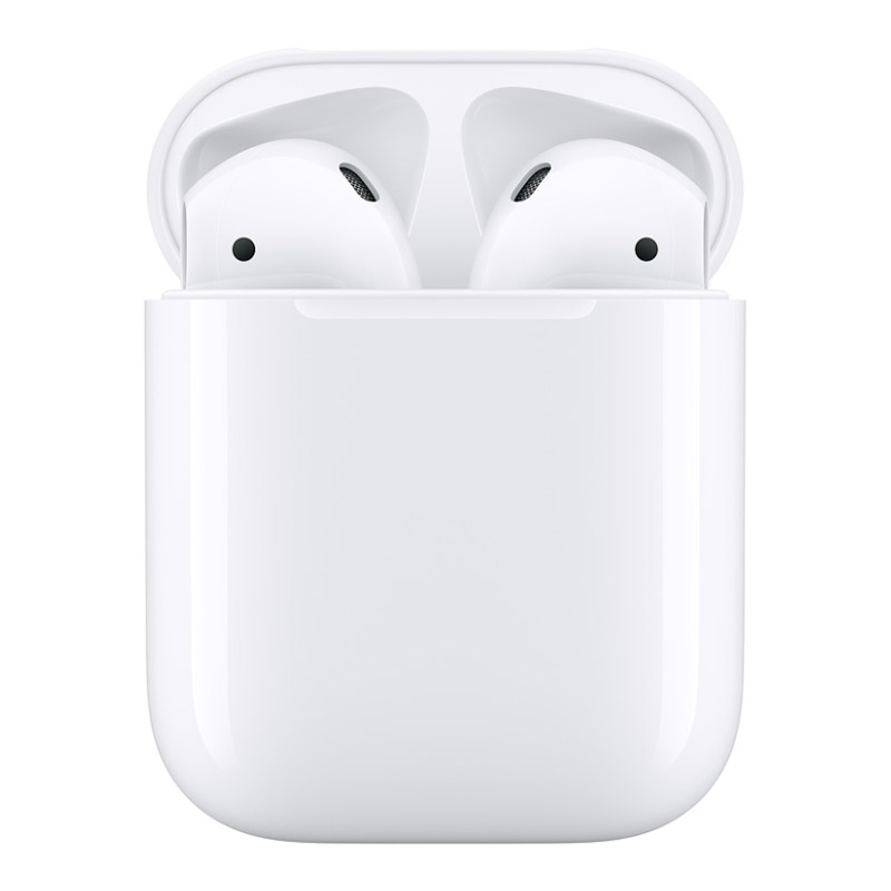 Image of Apple AirPods (2nd Gen) with Charging Case A2032 - White - 190199098558