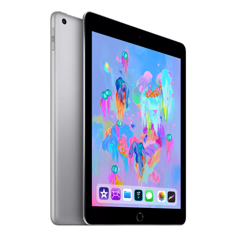 """Image of Apple iPad 2018 A1954 9.7"""" WiFi + Cellular 32GB - Space Grey - 190198647146"""