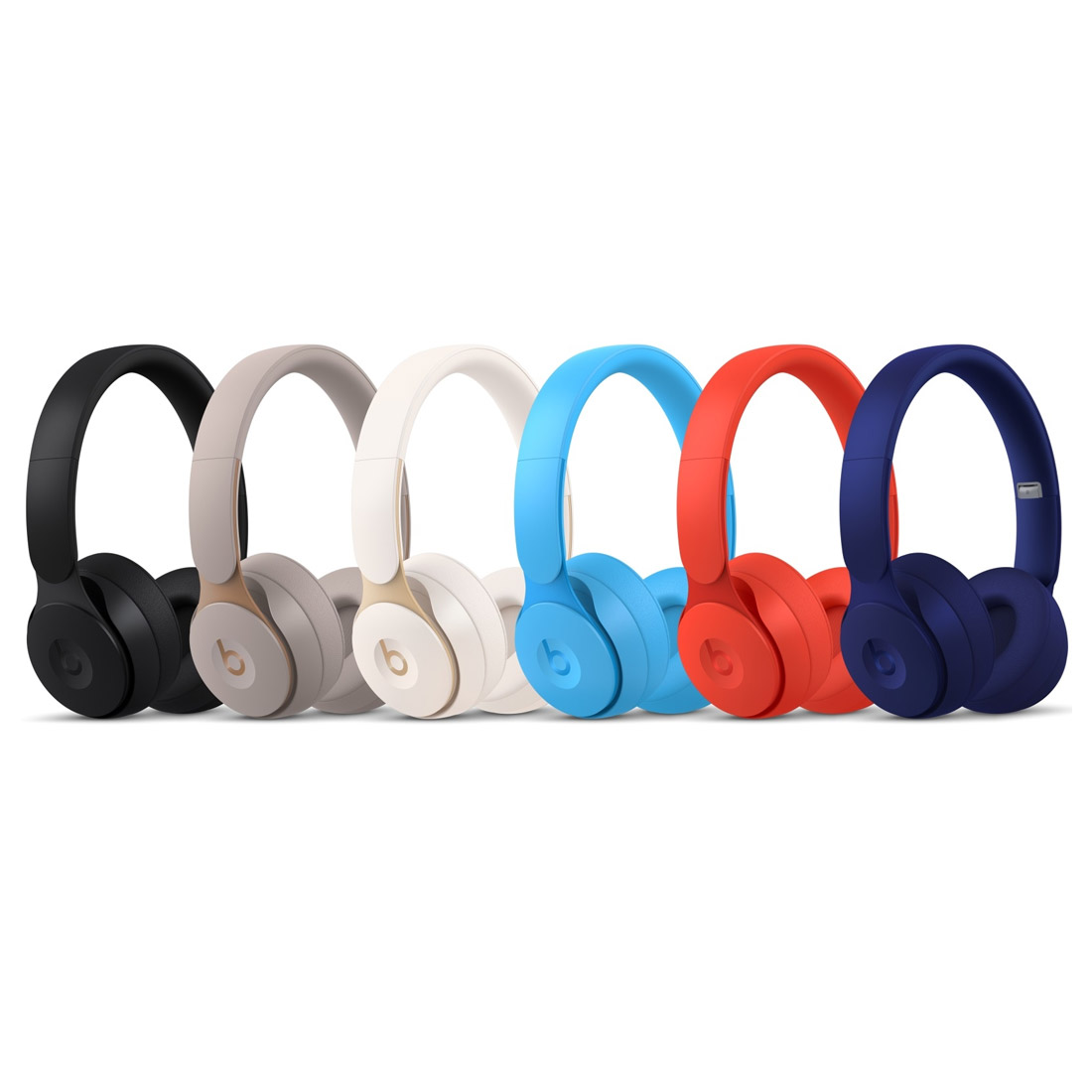 Image of Beats Solo Pro Wireless Noise Cancelling Headphones - Red