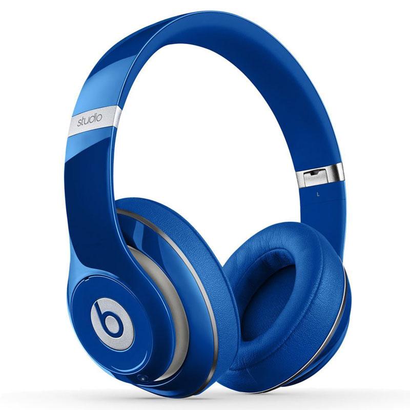 Beats Studio 2.0 Wired Over-Ear Headphones - Blue