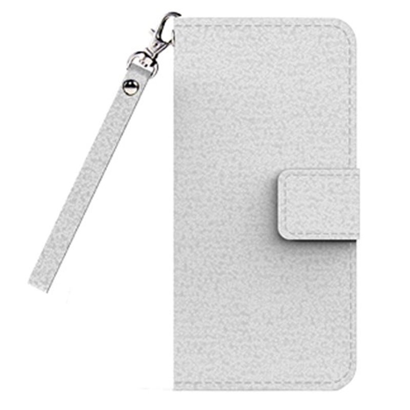 Image of Cleanskin Flip Wallet Case with Mag-Latch for Apple iPhone 7 - White - 9319655060798