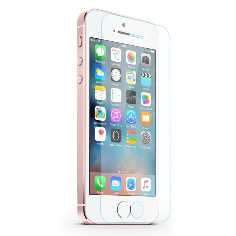 Image of Cleanskin Tempered Glass Screen Guard for Apple iPhone SE / 5S / 5 - 9319655055749