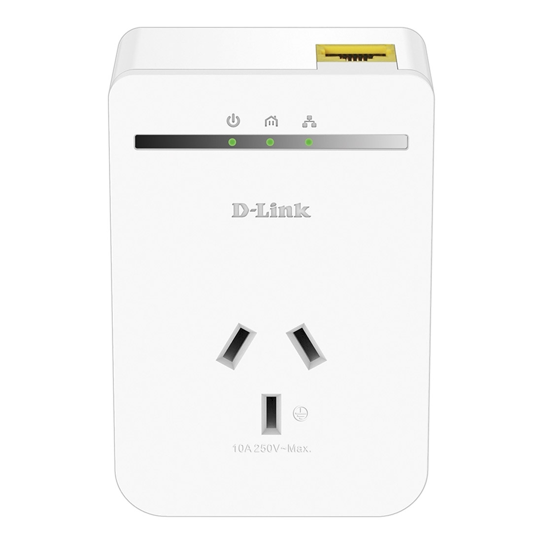D-LINK DHP-P308AV PowerLine Passthrough Network Adaptor (OEM Pack x 2)