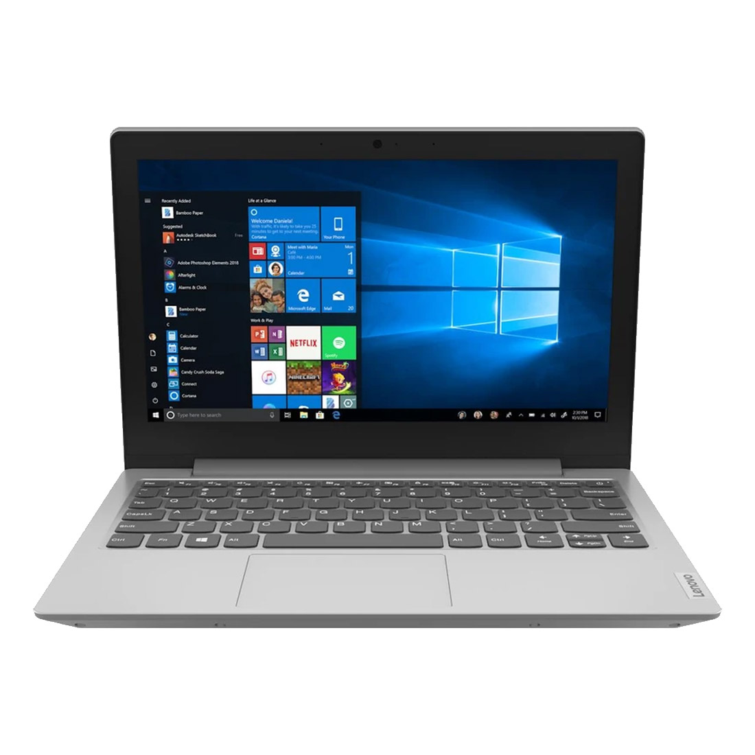 "Image of Lenovo IdeaPad 1 11IGL05 Notebook (Celeron, 11.6"", 64GB/4GB eMMC) - Grey"