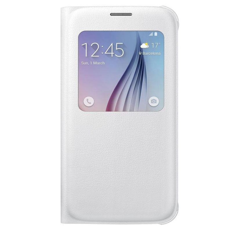 Samsung Galaxy S6 S-View Cover White