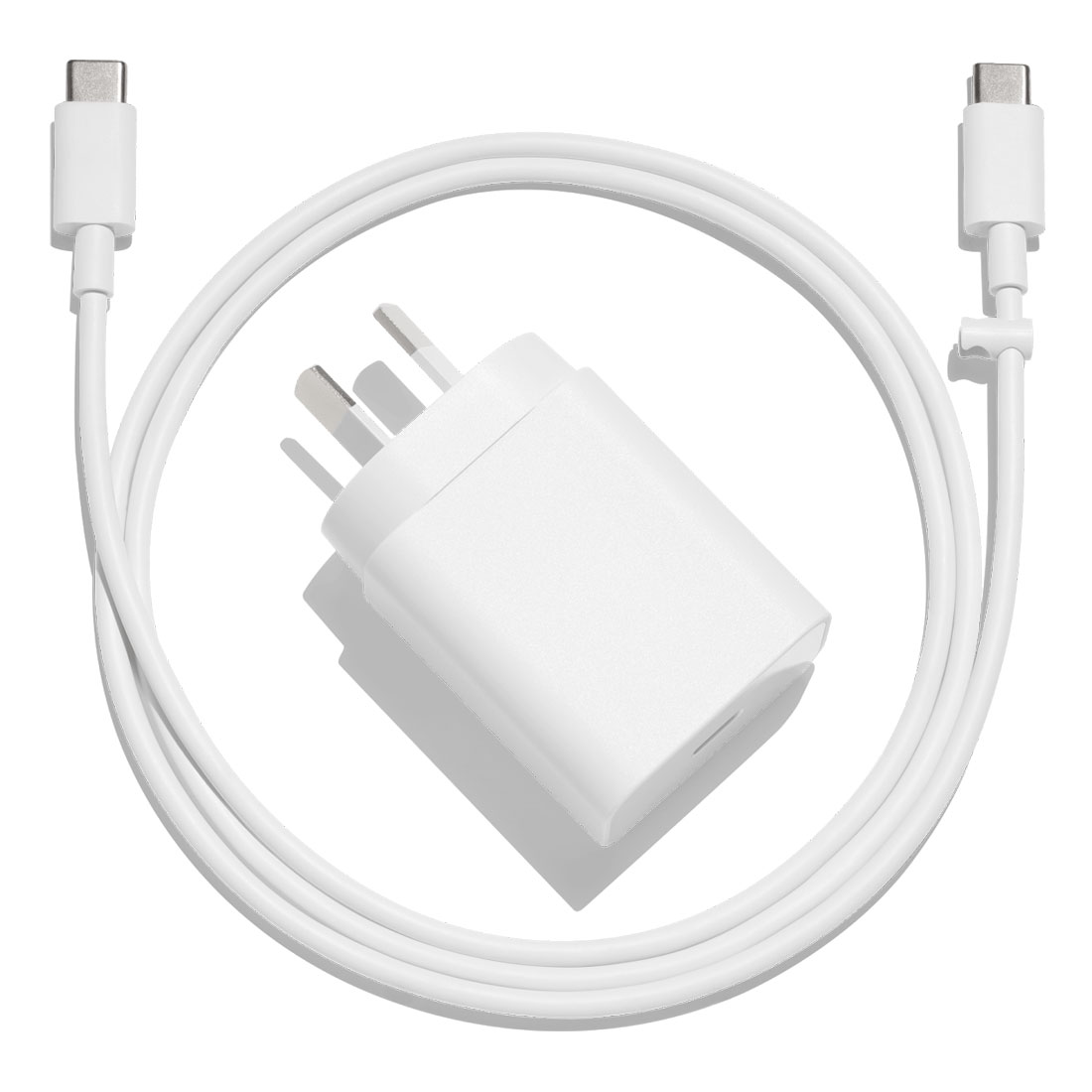Google 18W USB-C Fast Charging Power Adapter - White