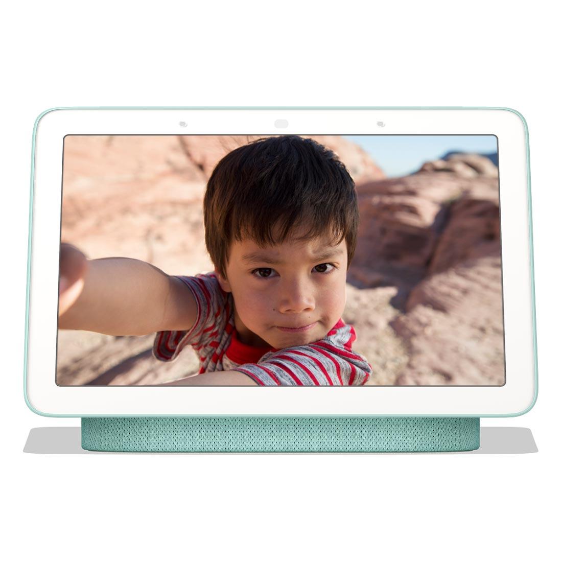 Google Home Nest Hub Smart Display & Home Assistant - Aqua