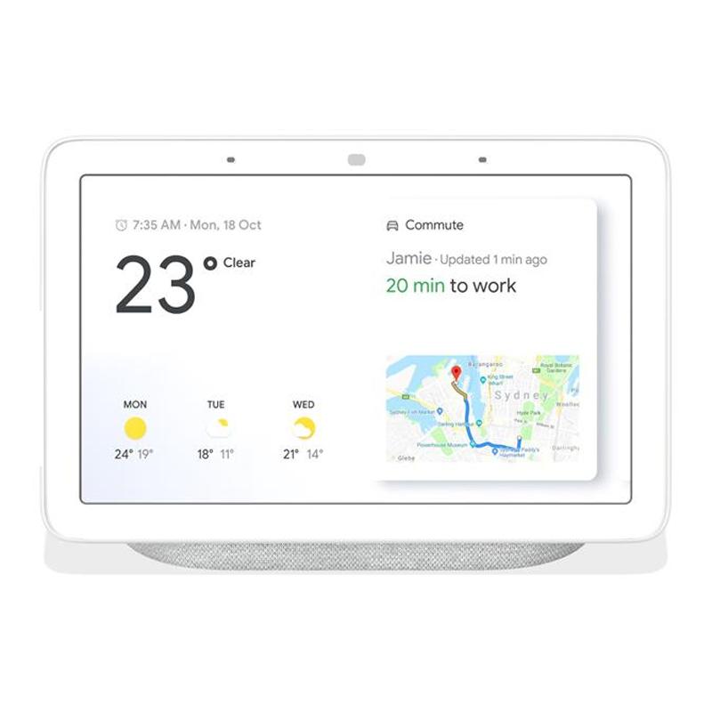Google Home Nest Hub Smart Display & Home Assistant - Chalk