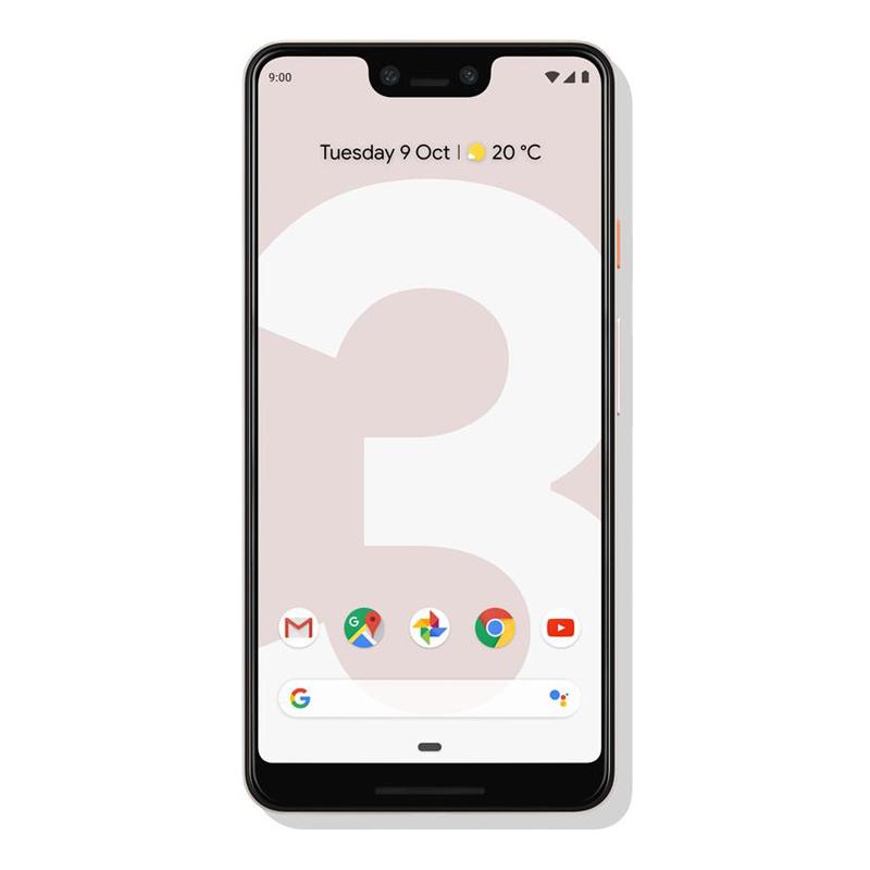 """Google Pixel 3 XL (6.3"""", 12.2 MP, 64GB/4GB) - Not Pink"""
