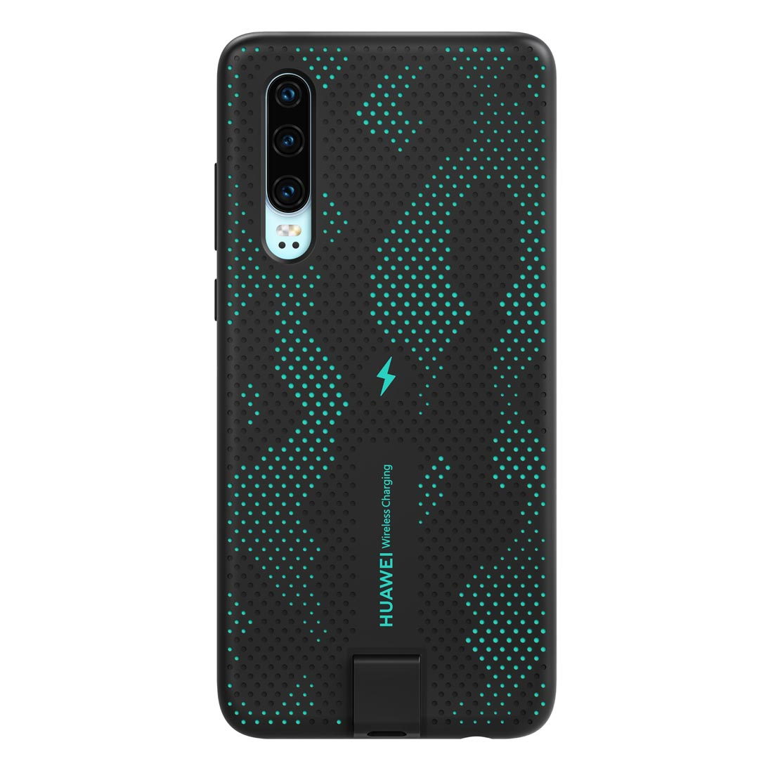 Huawei P30 Wireless Charging Case - Sparkle Blue
