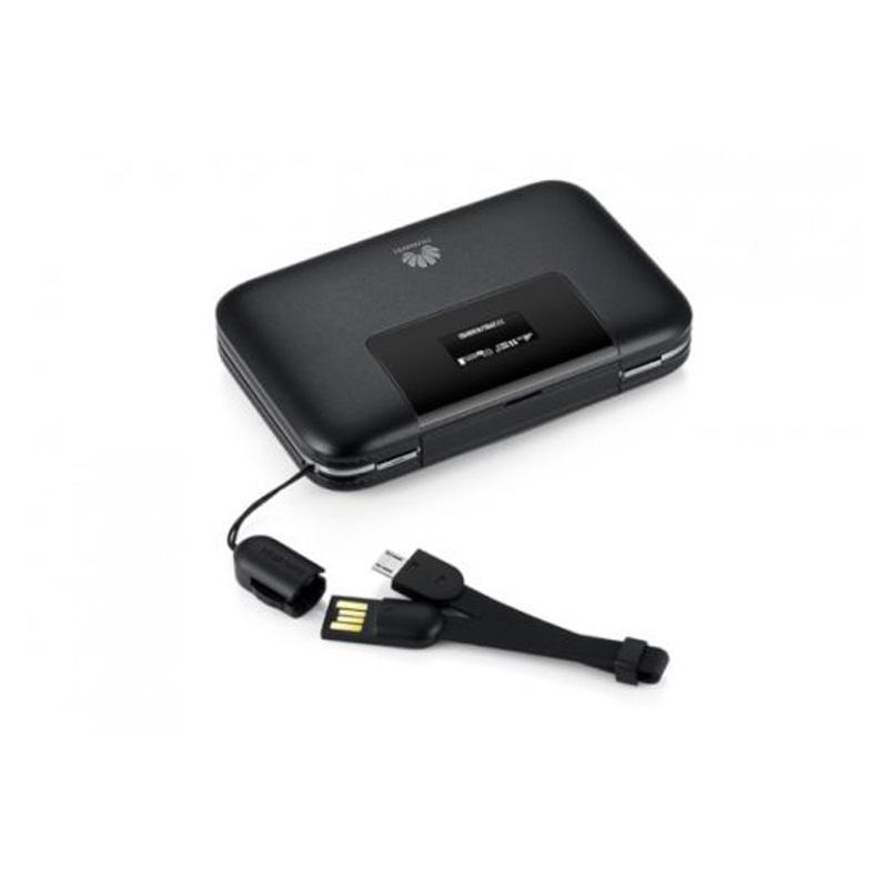 Huawei E5770 Mobile Wifi Pro Router (4G, 5200mAh Powerbank) - Black